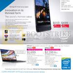 Venue 8 7000 Series Tablet, XPS 13 Notebooks