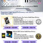 Adata SSD SP920 Premier Pro, SX910 XPG Series 128GB, 256GB, 512GB