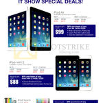 Apple IPad Air Tablet, IPad Mini 2, IPod Touch
