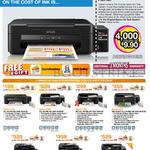 Printers Inkjet L210, L350, L355, L455, L550, L555, L850