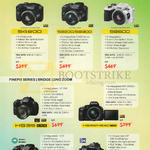 (No Prices) Digital Cameras Finepix S4800, S8200, S8300, HS35, HS55, HS50, S1, X-S1
