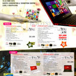 Fujitsu Notebooks Lifebook UH554 B5EW81P, 574 B7W813W, AH544 DW5W81, DB7W81P