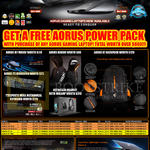 Aorus Gaming Notebooks X3, X3 Plus, X3 Plus V3, X7 V2, X7 Pro