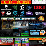 Shop Gaming Gears, Sign Up Specials, Participating Brands