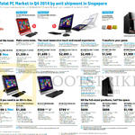 AIO Desktop PCs Pavilion Mini Envy Recline Phoenix TouchSmart Slimline, 23-n101d, K310d, K311d, K305d, 700-592d, 810-493d, 23tm, W2371d, 400-436d 435, 437d