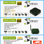 Trading Media Player Minix X5 Mini, X7 Mini, X8-Plus