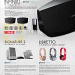 Leapfrog Elysium Speakers, Headphones, Infiniio, Signature 2 Reference Audio, Libretto Headset