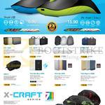 Leapfrog Powerlogic Shark Bags, Power Banks, Mouse, Citi Exec, Note, Trip, Campus 12, GMX-9, TZLA Slim Micro 2500, 5000, Magnum 15000, X Craft 7 Series