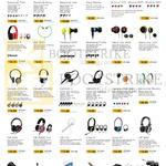 Leapfrog SonicGear Earphones, Headphones, Accessories, Earpump Twirl, Brug, Neo, Airphone III, BS 300, Neoplug Leaf, Xanadu Chrome, X1000, Xenon V, HS 900, 2000Pro, HS110