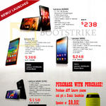 Lenovo Mobile Phones A6000, X2, S860, A606