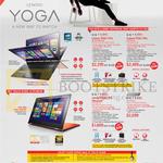 Notebooks Yoga 3 Pro, Yoga 2 Pro
