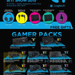 Logitech Gaming Packs Keyboard, Mouse Pack Gamer Starter, Beginner, Basic, Advamce, Extreme Moba, FPS, MMORPG