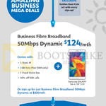 Business 124.00 50Mbps Business Fibre Broadband