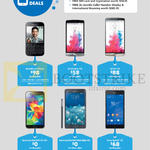 Business Mobile Phones Blackberry Classic, LG G3, Beat, Samsung Galaxy Galaxy S5, Note Edge, Sony Xperia Z3