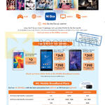 MiBox, Tablets, Mobile Broadband Plans, Samsung Galaxy Tab 4 7.0, Tab Active, Sony Xperia Z3 Compact, MData Plans