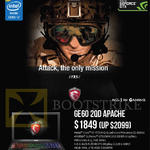 Newstead GE60 2QD Apache Notebook