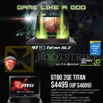 Newstead GT80 2QE Titan Notebook
