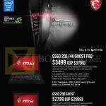 Newstead Notebooks GS60 2QE 4K Ghost Pro, GS60 2QD Ghost