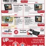 Maka GPS Marbella GPS Navigators Geomate 500s, 400s, N52, Unav HD7, HD5, Upsize Luxury Box