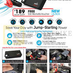 Maka GPS Marbella Maxpower 9900mAh Power-RE50 Multi-Function Jump Starter