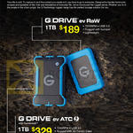 HGST G-Technology Rugged Storage G Drive Ev Raw, Ev ATC Thunderbolt