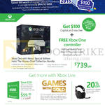 XBox One Kinect Console, Xbox Live Gold, Astro