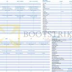 Comparison Table Epix, Fenix 3, Vivofit, Forerunner, Approach