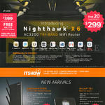 Nighthawk X6 AC3200 Wireless Wifi Router, EX7000, Aircard 785