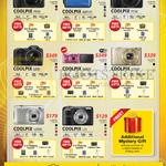Digital Cameras Coolpix P610, AW120, P530, L830, S6900, S7000, S2900, L31, Mystery Gift