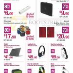 Accessories Pisen Power Bank, Tucano Sleeve, Divoom, Logitech, Soul, Bose, Ozaki