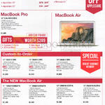 Notebooks Apple MacBook Pro, Apple MacBook Air