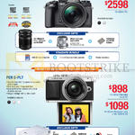 Digital Cameras OM-D E-M1, Pen E-PL7