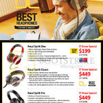 Red Fusion Focal Headphones Focal Spirit One, Classic, Pro
