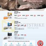 Memory Cards MicroSD Evo, Pro, SD Pro