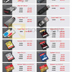 Memory Cards, USB Flash Drives Extreme Pro, SDHC SDXC UHS MicroSDHC CompactFlash, Ultra Fit, Cruzer Force, Orbit, Extreme Pro