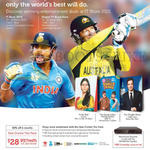 Singtel Mio TV Desi Cricket Trio Pack