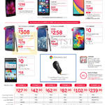 Mobile Phones LG G Flex2, Lumia 930, OPPO N3, Samsung GALAXY Note 4, Note Edge, S5, ZTE Blade VEC 4G, Chromecast, Mobile Plans Combo