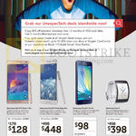 Singtel Mobile Phones Samsung Galaxy Note 4, Samsung Galaxy Note Edge, Samsung Galaxy A3, Samsung Galaxy Gear S