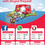 Prepaid, Facebook Plans, WhatsApp Plans, Opera Mini Plans