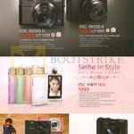 Sony Digital Cameras DSC-RX100 III, II, KW11, WX-350, HX60V