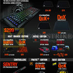Keyboard, Controller, Mouse, Mousepad, Apex M800, QCK Mini, Plus, Dex, Sensei Raw, Rival, Sentry