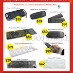 Systems Tech Ranger Keyboards Bluetooth Handy, Palmtop BT, Smarty, Touchpad Plus, 419, 239BT, P800 Presenter