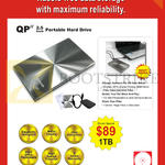 Systems Tech Ranger QP II 1TB External Storage