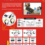 Systems Tech Ranger Wireless TV Combo Packs, Headset, Keyboard