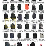 Backpacks Incognito, Sport Matrix, Ascend, Bex, City Fusion, Transit Backpack, Citylite II Ultimate, Ecosmart Emerald, Revolution, King Cobra