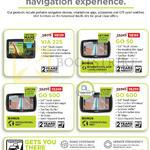 Newstead GPS Navigators VIA 225, Go 50, Go 500, Go 600