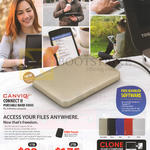 Canvio Connect II External Storage Drive 1TB 2TB