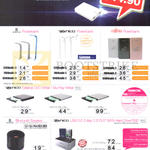 Eterno Power Banks, DVD, Blu-Ray Writers, MicroSD Card Readers, SATA Hard Drives, Neo, Fujitsu, OTG, Panda Mobile Security