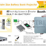 Innovative K4 Battery Bank Projector