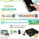 Innovative K5 Battery Bank Projector